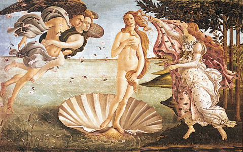 The-Birth-of-Venus-canvas-Sandro-Botticelli